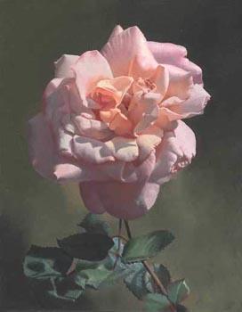 Wie malt man eine Rose?  -Altmeisterlich mit Untermalung  Anleitungvon Alexei Antonov