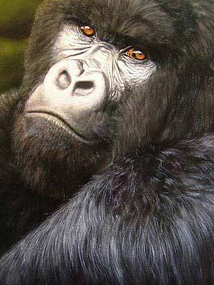 Wie malt man Fell Schritt-für-Schitt Erklärung von Jason Morgan am Beispiel eines Gorillas