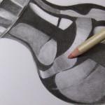 Eine Vase zeichnen aus Metall – Wie zeichnet man Gegenstände aus Metall ?