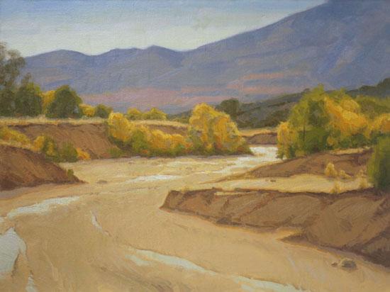 Landschaftsbilder malen mit Ölfarben Schritt für Schritt Anleitung