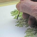 Einen Baum malen mit Aquarellfarben – John Fisher