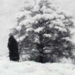 Landschaft zeichnen Kohle – Anleitung Kohlezeichnung lernen – Dan Schultz