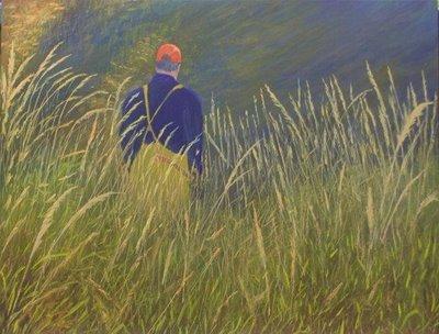 Acryl Anleitung Gras malen  - Brian Rice