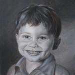Kinder malen, Gesichter malen altmeisterlich mit Grisaille – Monika Kunze