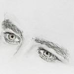 Gesichter zeichnen lernen -Details Nase Mund Augen Ohren – Claudia Sottner