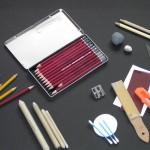 Was braucht man zum Zeichnen?  – Claudia Sottner