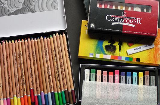 Was braucht man zum Zeichnen?  - Claudia Sottner