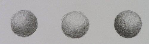 Verschiedene Töne erzielen & Plastische Formen zeichnen - Claudia Sottner