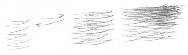 meer zeichnen bleistift
