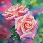 Blüten malen Aquarell Anleitung 2 von Barbara Fox