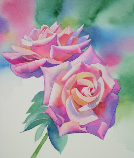 How To Paint Petals And Leaves With Acrylic Paint