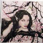 Feen malen – Elfen malen -Wie malt man eine Fee ? – Fantasy Art mit Aquarellfarben – Anleitung von Rebecca Sinz