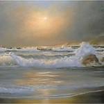 Meereswellen malen eine Anleitung von Larry Johns