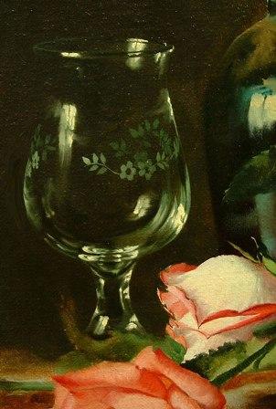 Glas Malen Auf Klassischen Stilleben Von Alexei Antonov Wie Malt Man