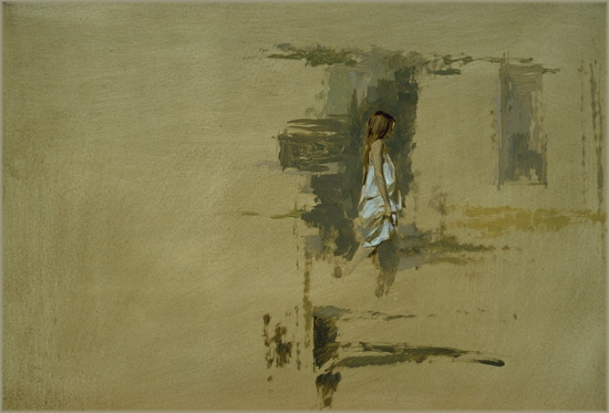 Mit Ölfarben malen - eine Frau malen - Elfin Cove - William Whitaker