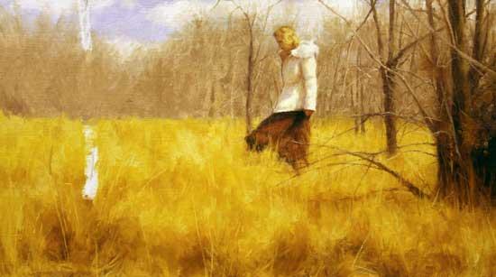 Figuren malen lernen im Landschaftsbild von Dan Schultz