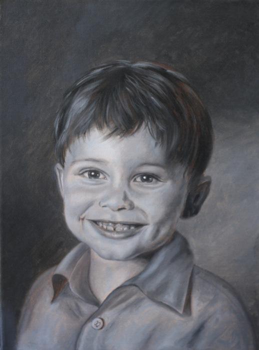 kinder malen gesichter malen altmeisterlich mit grisaille