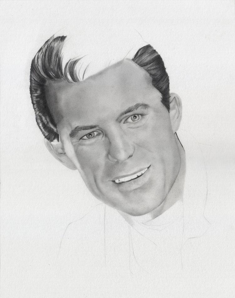 Gesicht Augen Nase Zeichnen-Portrait Zeichnen ein Mann- Anleitung - David Te