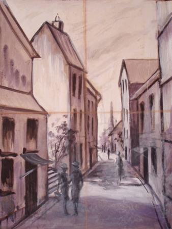 Perspektivisch Zeichnen , 3-Dimensional Zeichnen,Fluchtpunke  -TEIL 1–Julie Duell