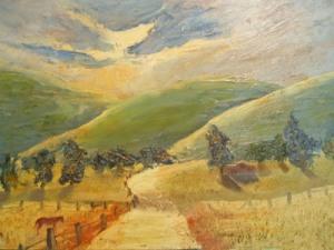 Geheimnisse der Malerei- Nebel,Staub und Sonnenstrahlen malen- Anleitung von Julie Duell
