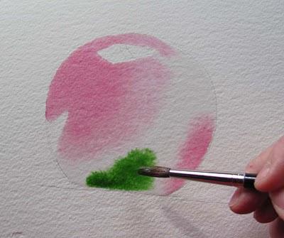 Stillleben malen mit Aquarellfarben –Anleitung- Barbara Fox