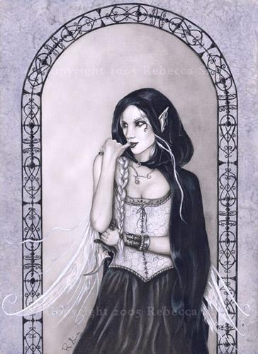 Gothic Bilder Malen Feen Und Elfen Malen Lernen Rebecca Sinz Wie