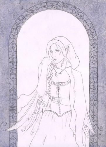 Gothic Bilder malen Feen und Elfen malen lernen– Rebecca Sinz